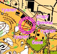 Схема центра соревнований